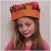 Fall Hat - Kids Crafts