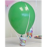 Hot Air Balloon - Kids Crafts