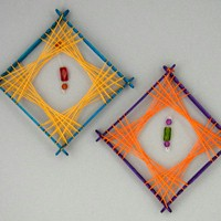 String Art Decorations - Kids Crafts