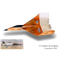 F-15 Paper Airplane - Kids Crafts