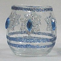 Hanukkah Votives Craft