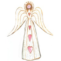 Aged Angel Treetopper - Kids Crafts