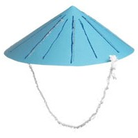 Asian Hat - Kids Crafts
