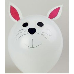 Balloon Bunny - Kids Crafts