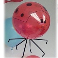 Ladybug Balloon - Kids Crafts