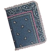 Bandanna Covered Journal - Kids Crafts
