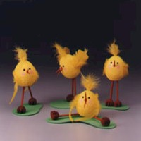Barnyard  Chicks Craft