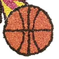 Tissue Paper Basketball - Kids Crafts