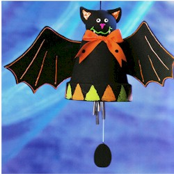 Bat Wind Chime Craft