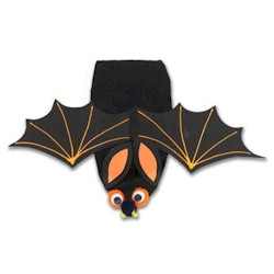 Bat Puppet - Kids Crafts