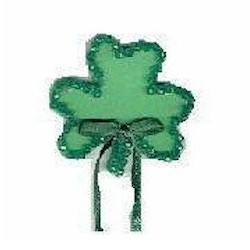 Faceted Shamrock Pin - Kids Crafts