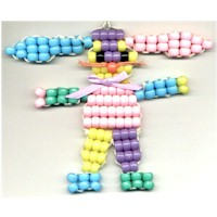 Beaded Easter Bunny - Kids Crafts
