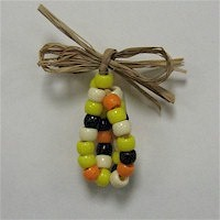 Beaded Indian Corn - Kids Crafts