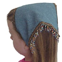 Beaded Kerchief - Kids Crafts