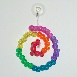 HOW TO MAKE THE BEAD PEACE SUNCATCHER | THE SURPRISES PAGE