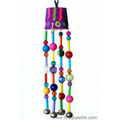 Beaded Wind Chimes - Kids Crafts
