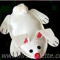 Bean Bag Bunny Craft