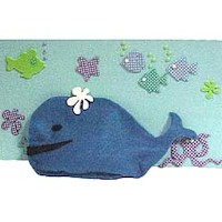 Bean Bag Whale - Kids Crafts