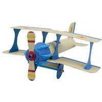 Recycled Bi Plane Craft
