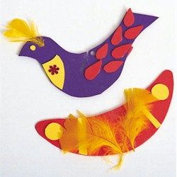 Birds On The Wing - Kids Crafts