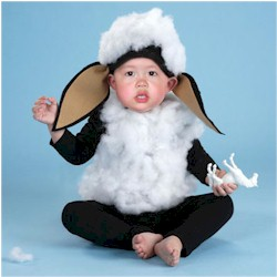 Baby Black Sheep Costume Craft
