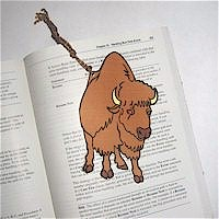 Ox Bookmark - Kids Crafts