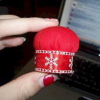 Bottle Cap Pin Cushion - Kids Crafts