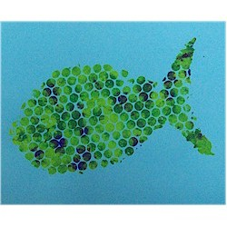 Bubble Wrap Fish - Kids Crafts