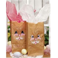 Hoppy Bunny Bags - Kids Crafts