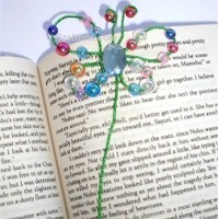 Butterfly Bead Bookmark Craft