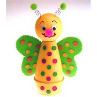 Butterfly Polka Dots - Kids Crafts