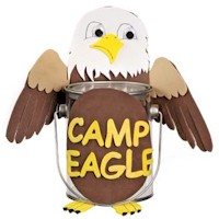 Eagle Treasure Bucket - Kids Crafts