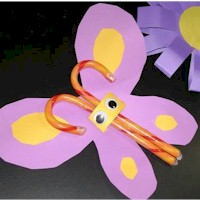 Candy Butterfly - Kids Crafts