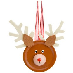 Canning Jar Lid Reindeer Craft