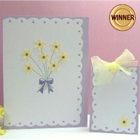 Matching Spring Card and Gift Tag - Kids Crafts