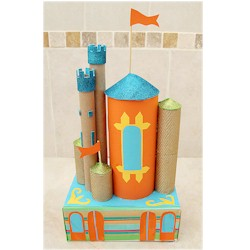 Cardboard Castle - Kids Crafts