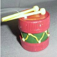 Cardboard Tube Drum Craft