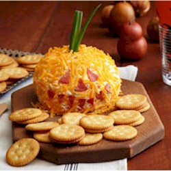 Cheesy Jack-O-Lantern Craft