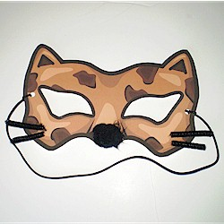 Printable Cheetah Mask Craft