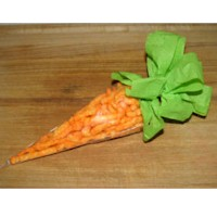 Cheetos Easter Carrot Craft