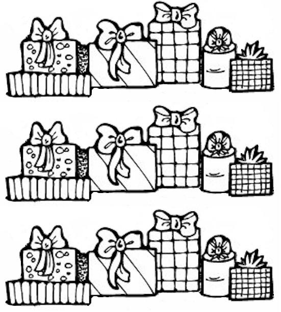 рамки - Всичко от хартия и картон - Page 3 Christmas_gift_bw