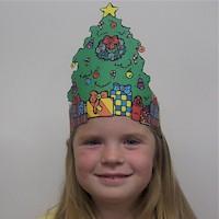 рамки - Всичко от хартия и картон - Page 3 Christmas_tree_hat