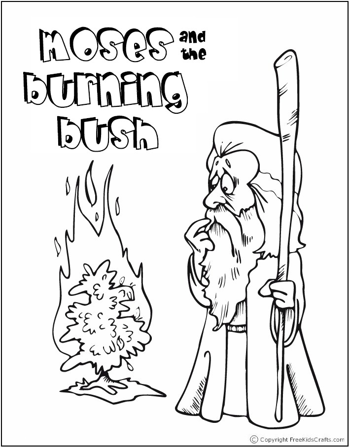 coloring pages of bible stories - photo#6