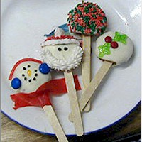 Christmas and Holiday Cookie Pops - Kids Crafts