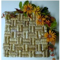 Wine Cork Hot Plate - Kids Crafts