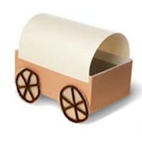Pioneer Covered Wagon - Kids Crafts