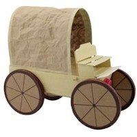 Covered Wagon - Kids Crafts