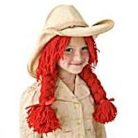 Cowgirl  Wig - Kids Crafts