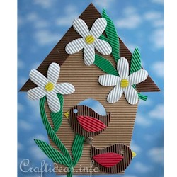 Birdhouse Decoration Craft