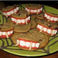 Dracula's Dentures Craft